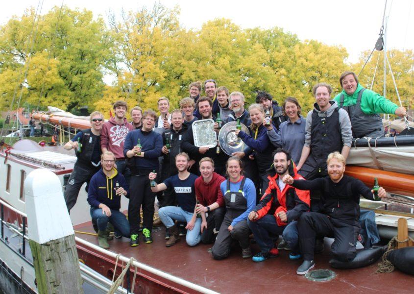 Drie keer 1e prijs in de Enkhuizer Klipperrace!