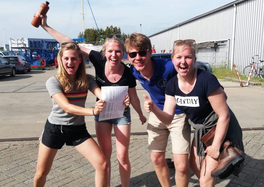 Mayday skûtsjeteam derde op Lemmer Ahoy