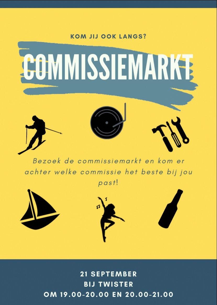 Commissiemarkt shift 1 - 21 September